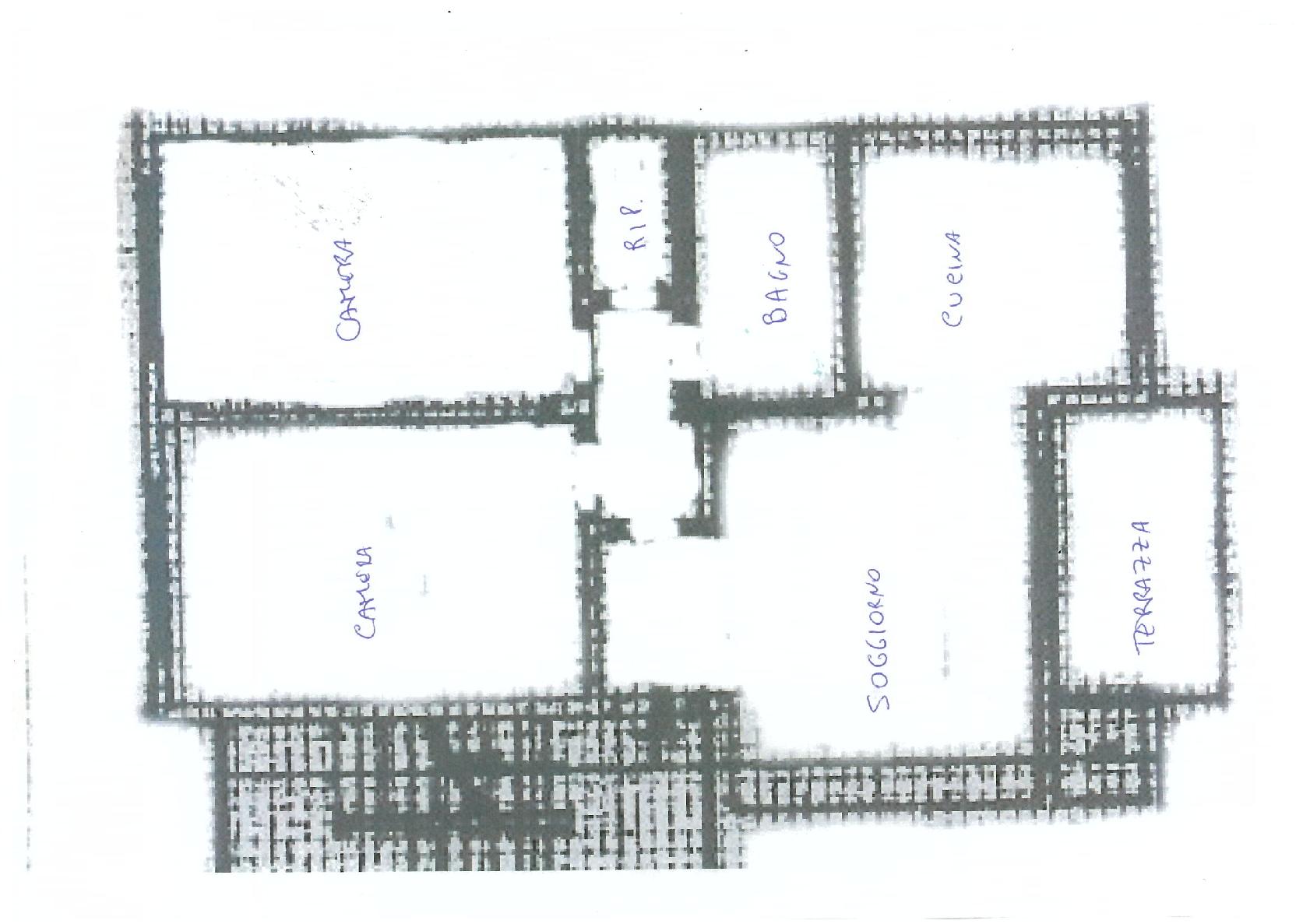 Planimetria 1/1 per rif. IA5105