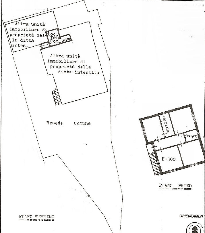 Planimetria 2/2 per rif. IA5163