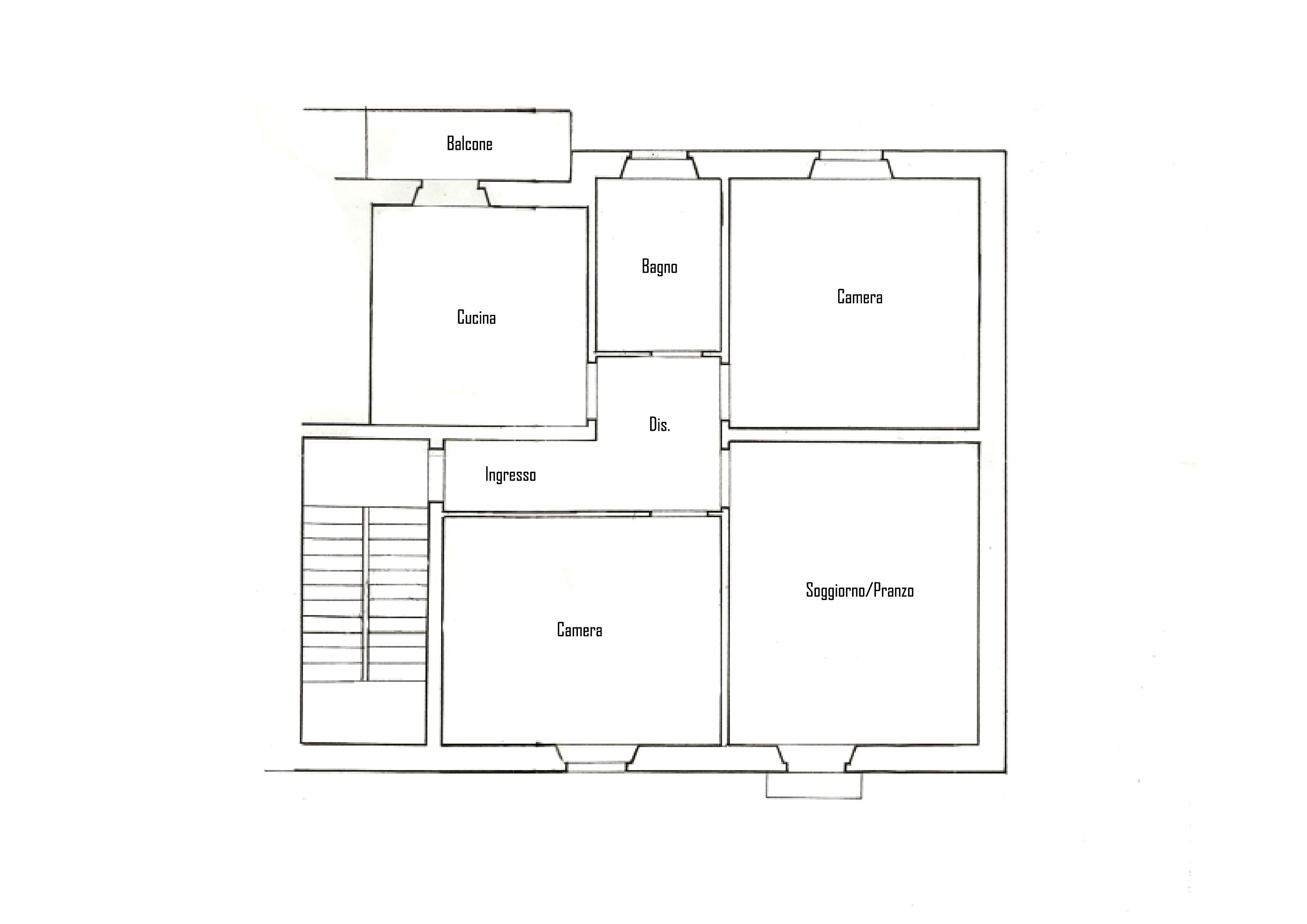 Planimetria 1/1 per rif. IA5183