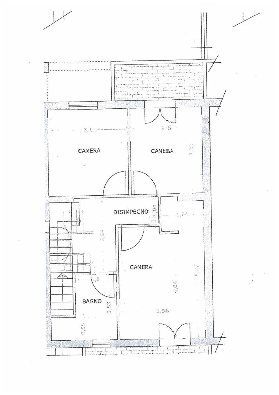 Planimetria 2/3 per rif. IA5215