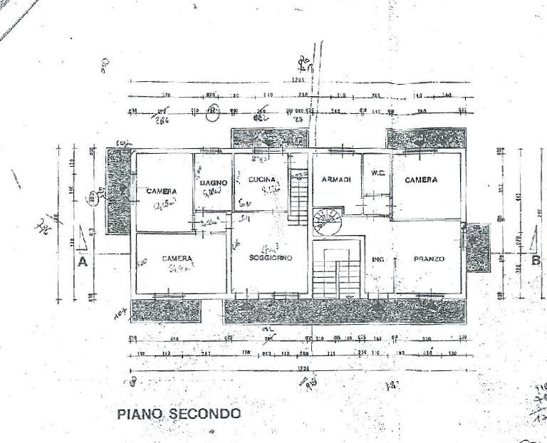 Planimetria 1/2 per rif. IA5227