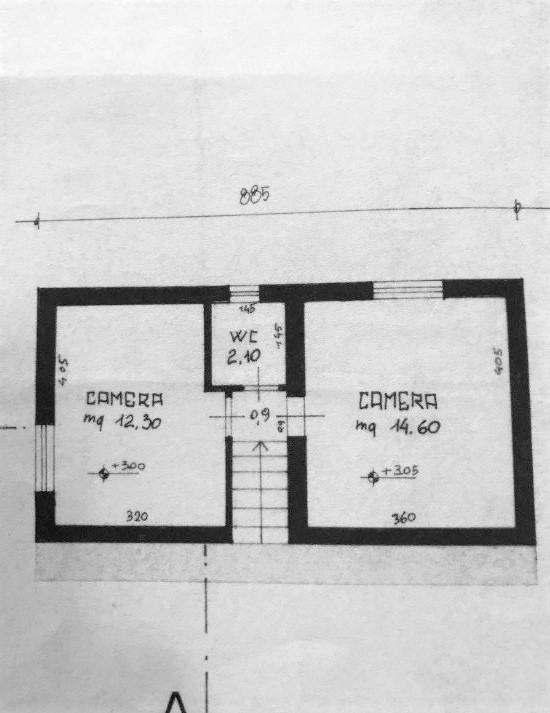 Planimetria 1/2 per rif. 20/900