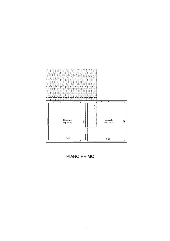 Planimetria 1/2 per rif. 20/909