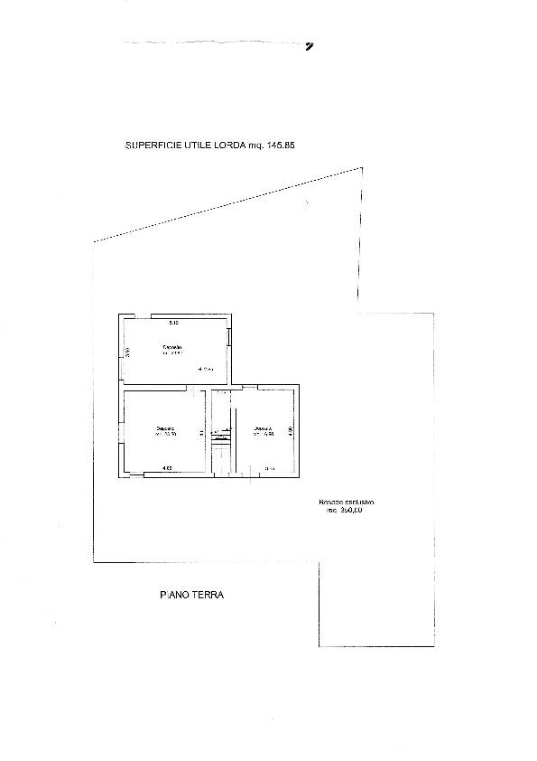 Planimetria /2 per rif. 20/909