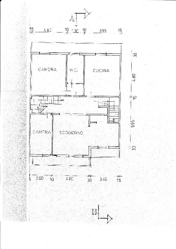 Planimetria /1 per rif. B/135