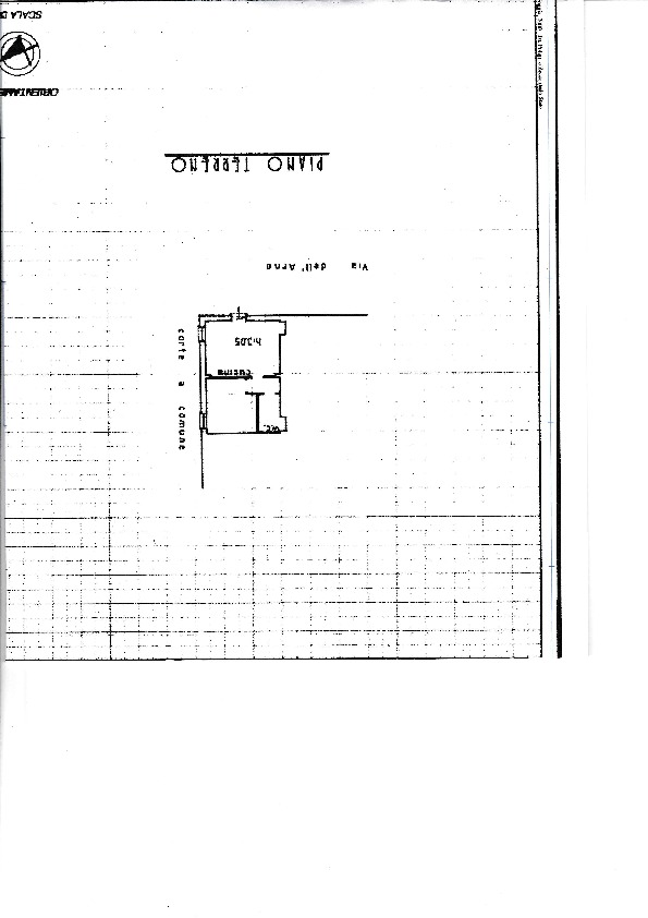 Planimetria /1 per rif. B/137