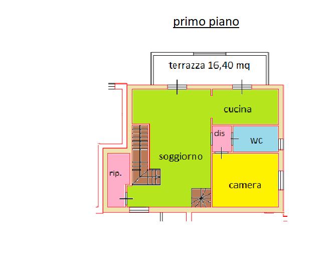 Planimetria /2 per rif. NC01