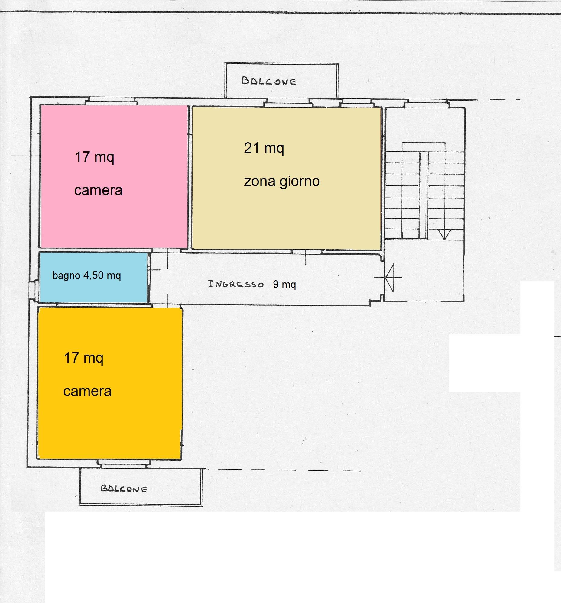 Planimetria /2 per rif. B/148