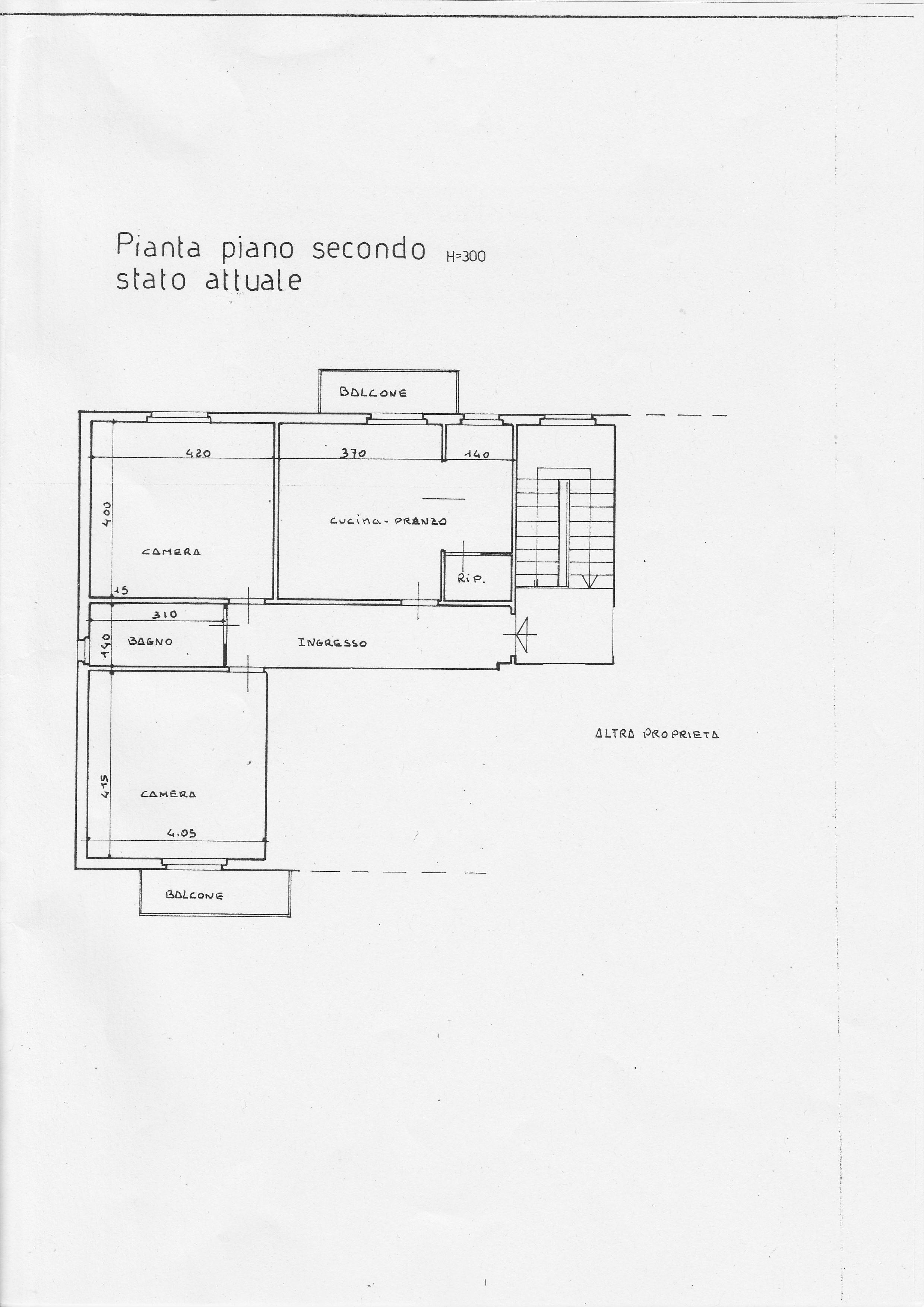 Planimetria 1/2 per rif. B/148