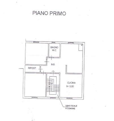 Planimetria /1 per rif. B/183