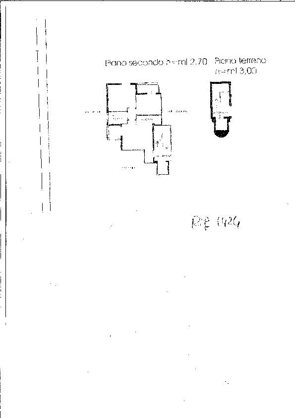 Planimetria 1/1 per rif. 1424