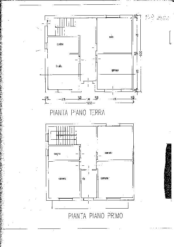 Planimetria 1/1 per rif. 1461