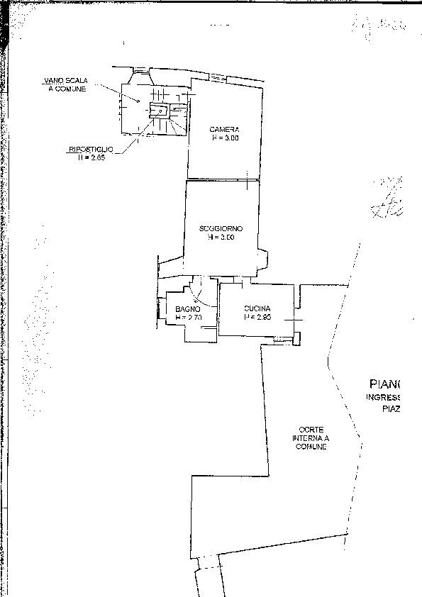 Planimetria 1/1 per rif. 1464