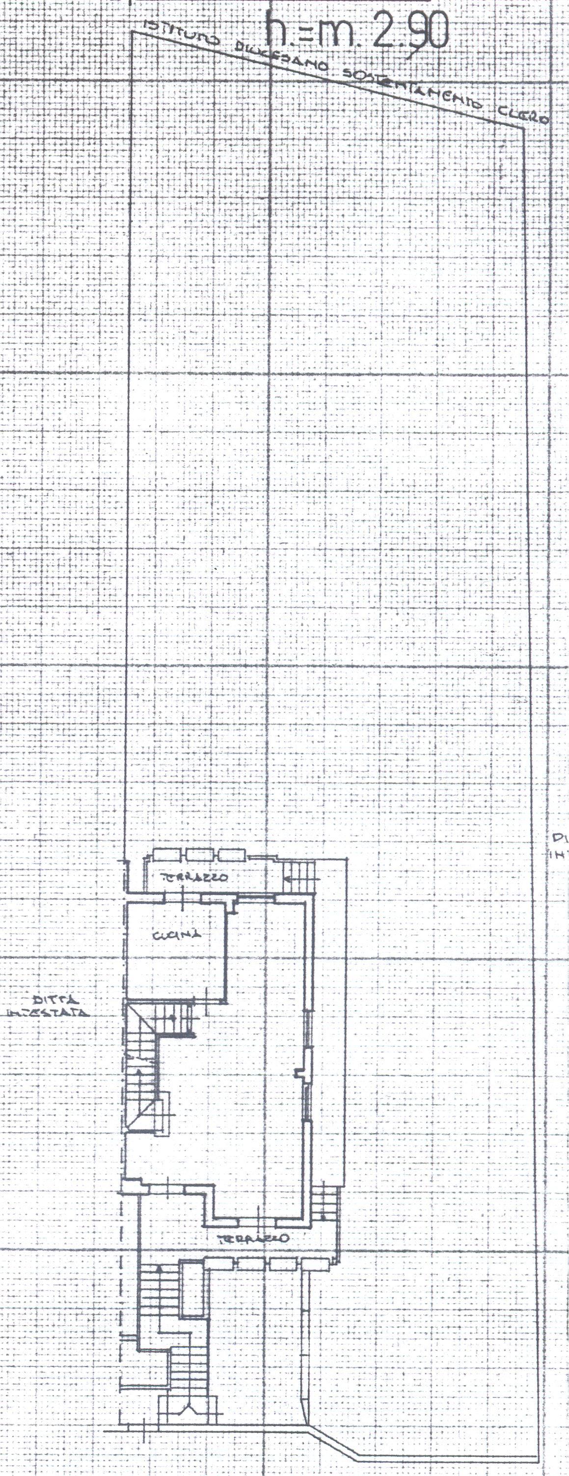Planimetria 1/8 per rif. 1/2162