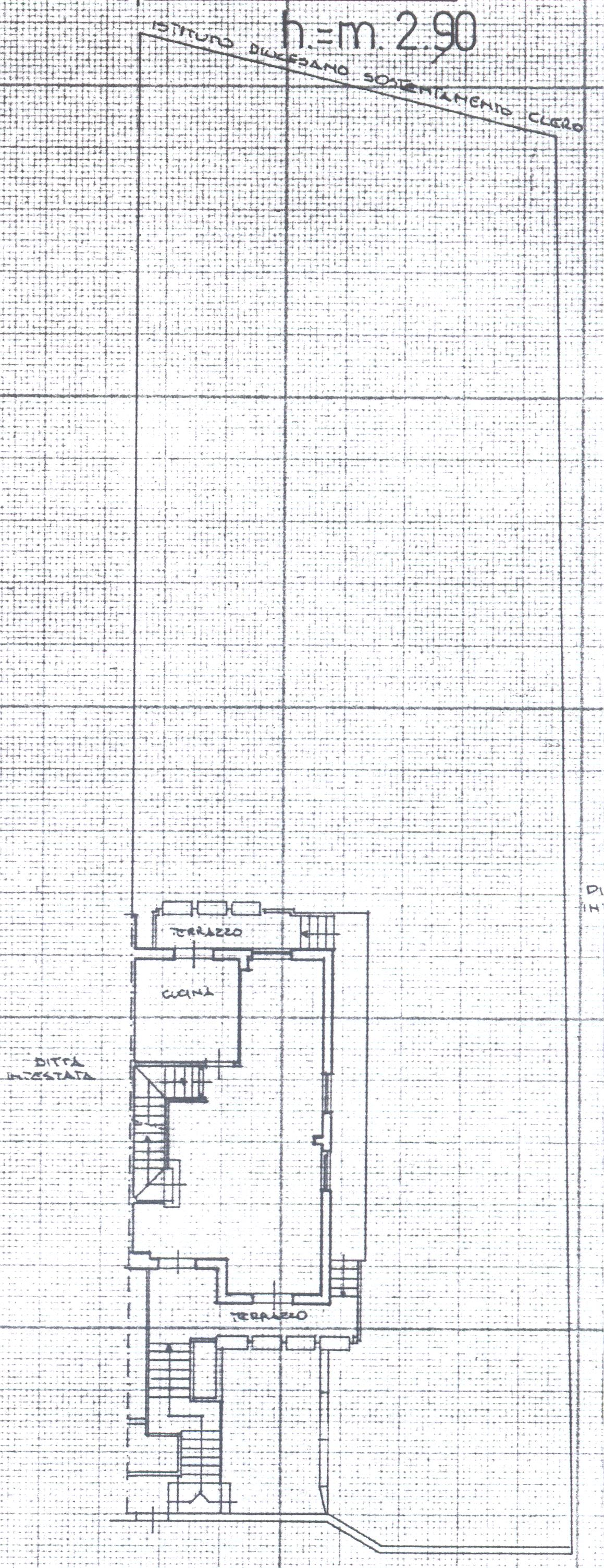 Planimetria 2/8 per rif. 1/2162