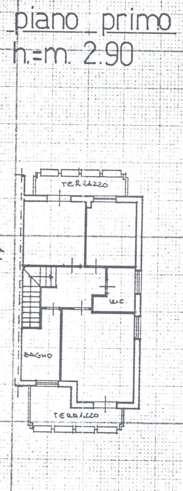 Planimetria 6/8 per rif. 1/2162