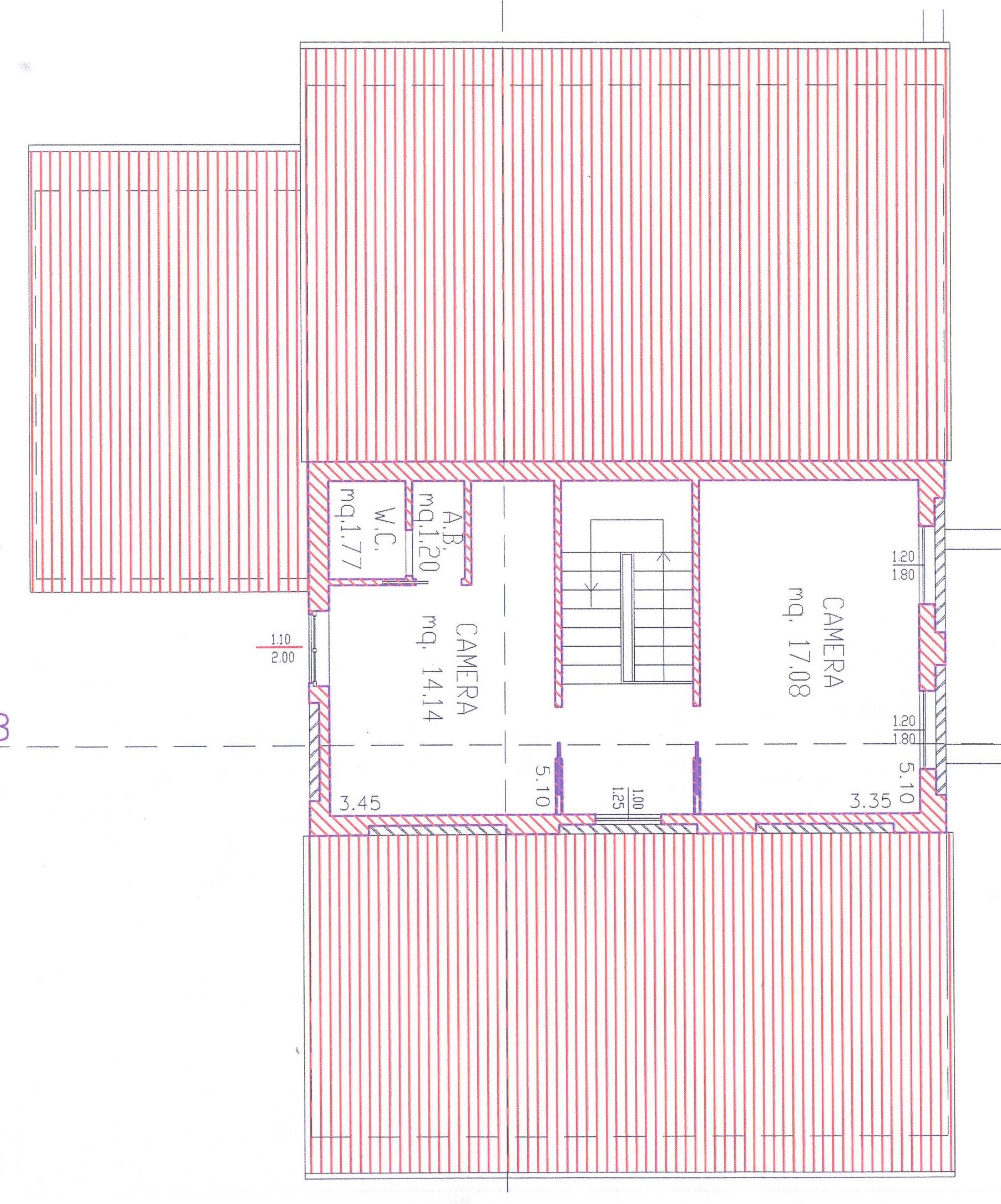 Planimetria 3/4 per rif. 1/2178