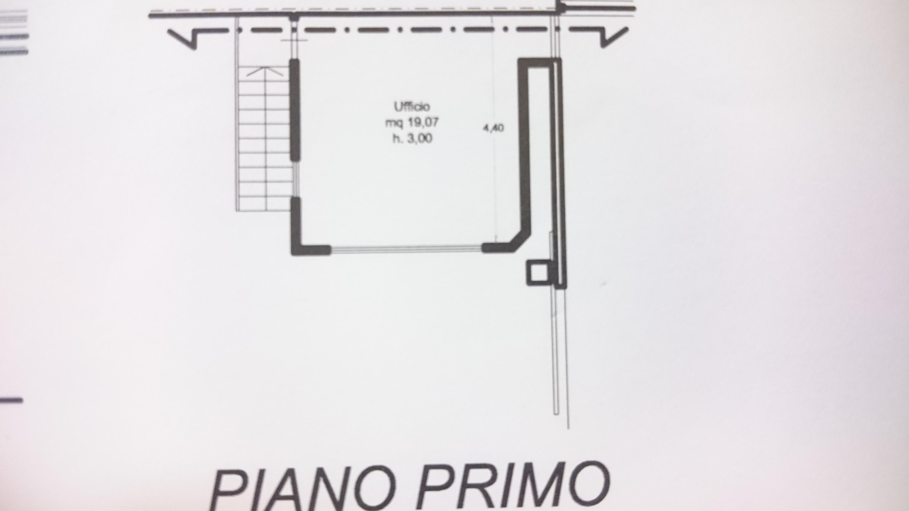 Planimetria 2/3 per rif. 1/2181