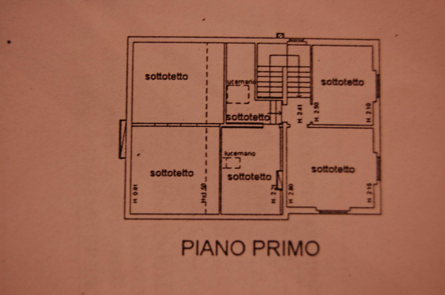 Planimetria 3/3 per rif. 1/3037