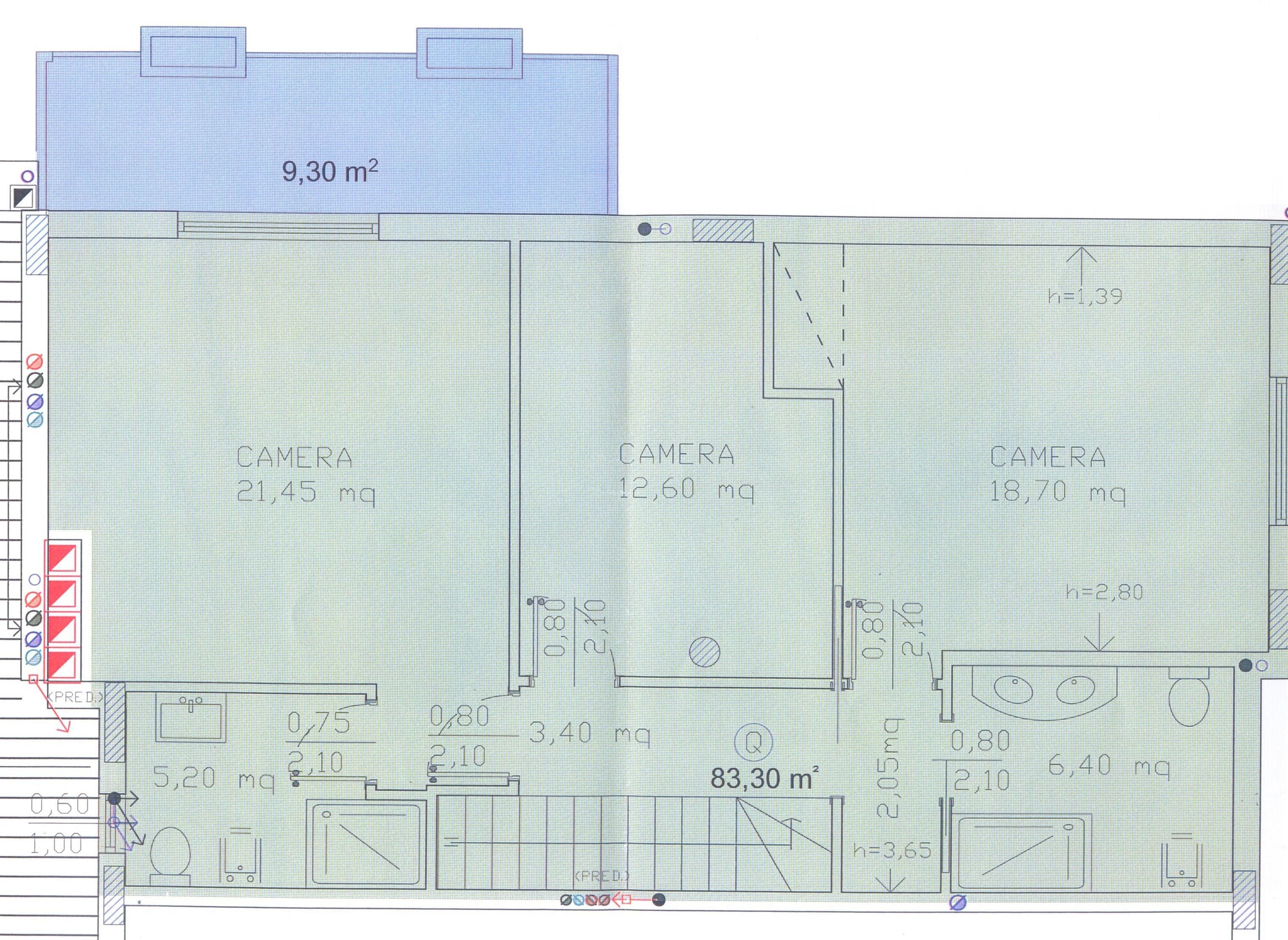 Planimetria 4/4 per rif. F/0092