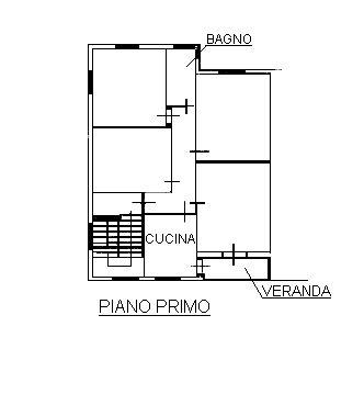 Planimetria 1/3 per rif. 1/3123