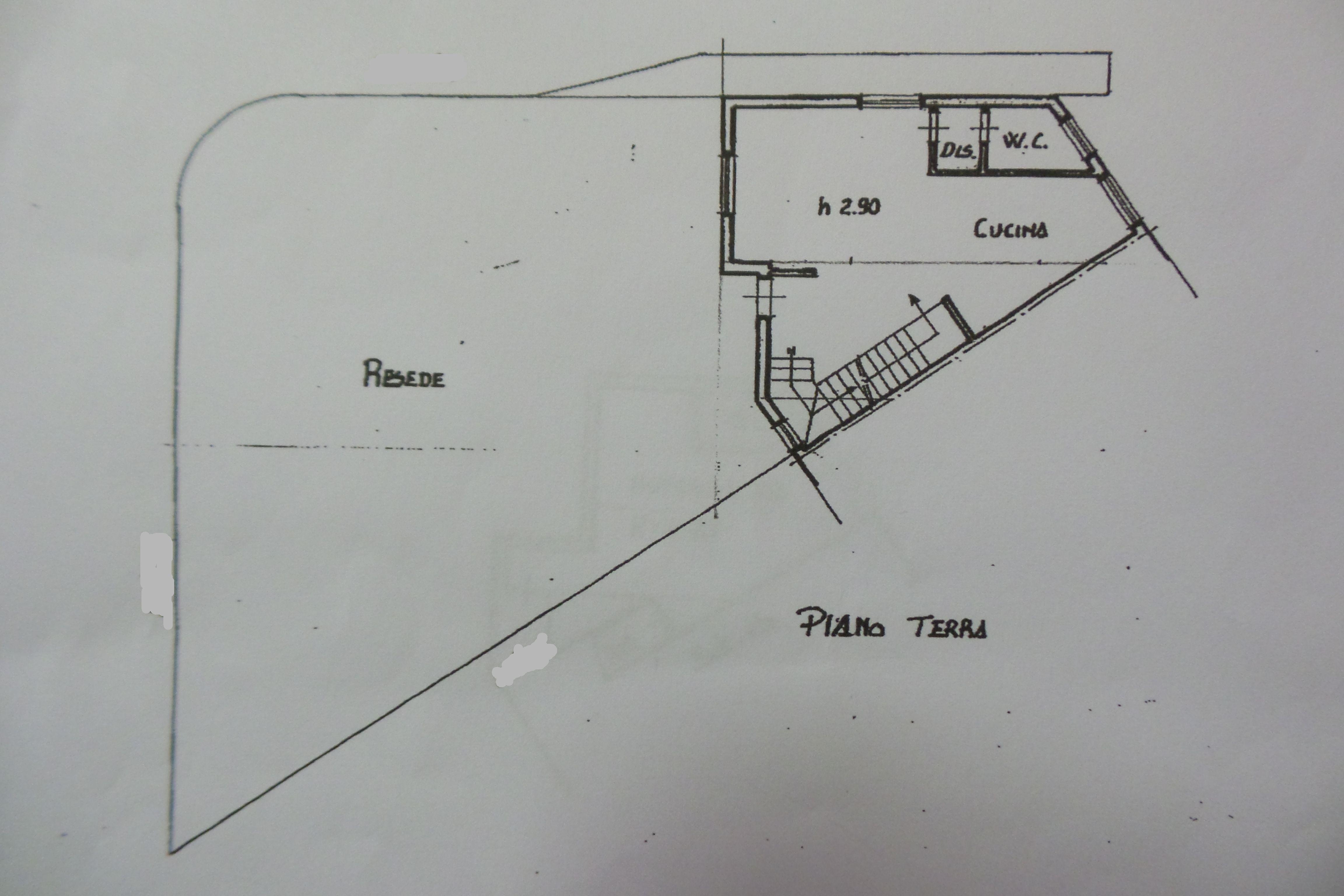 Planimetria 1/4 per rif. M/0029