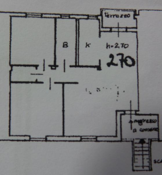 Planimetria 1/1 per rif. 1/3211