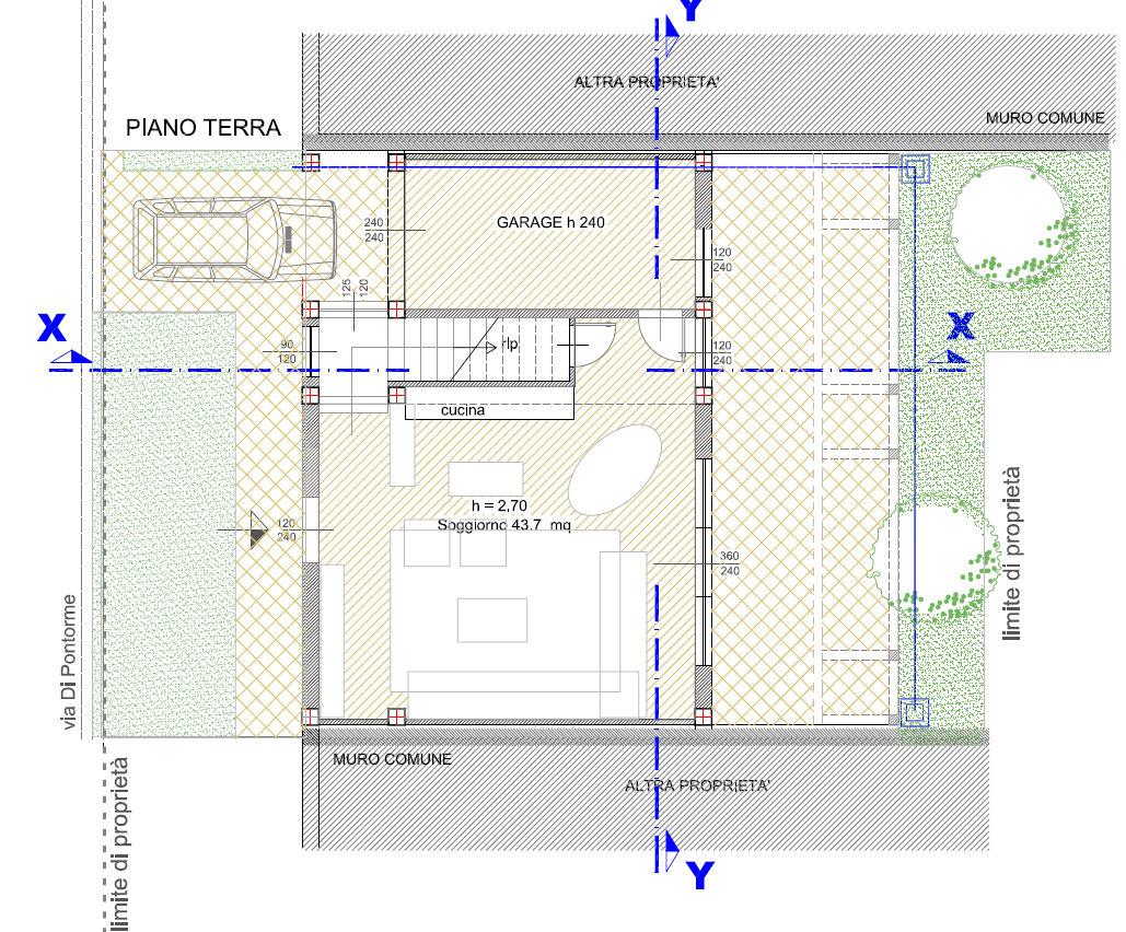 Planimetria 2/4 per rif. F/0032