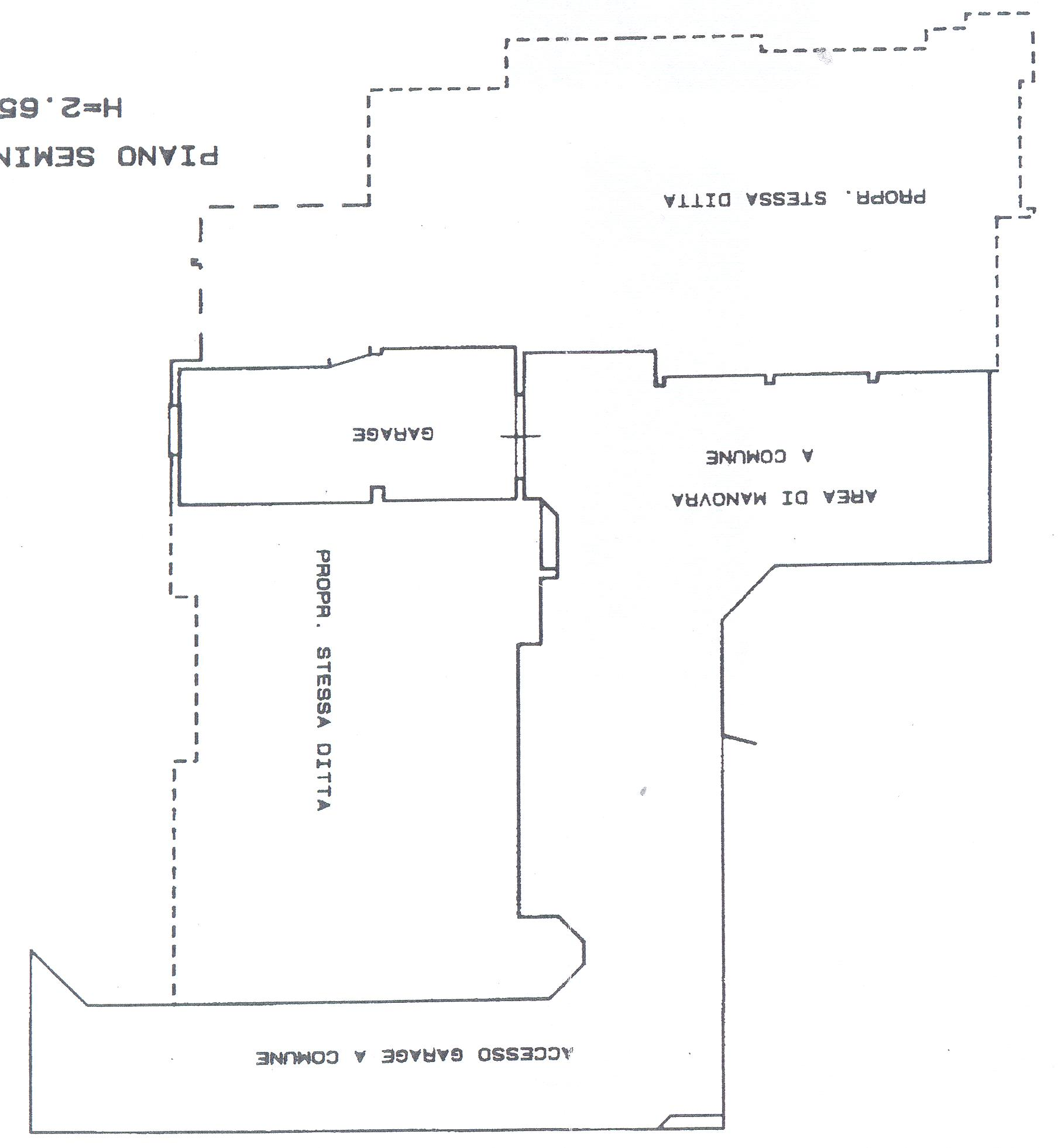 Planimetria 2/2 per rif. F/0046
