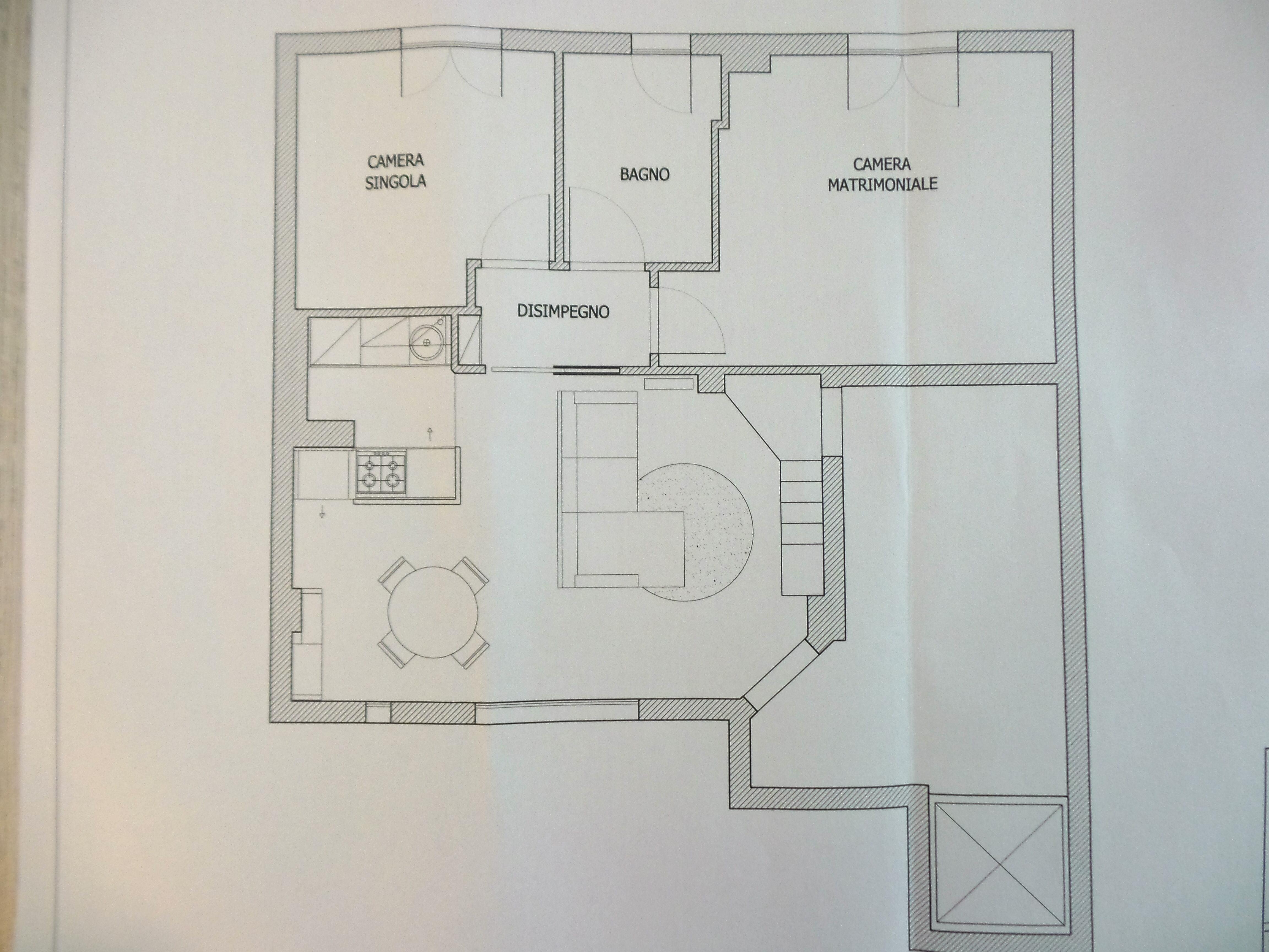 Planimetria 1/1 per rif. B/0079