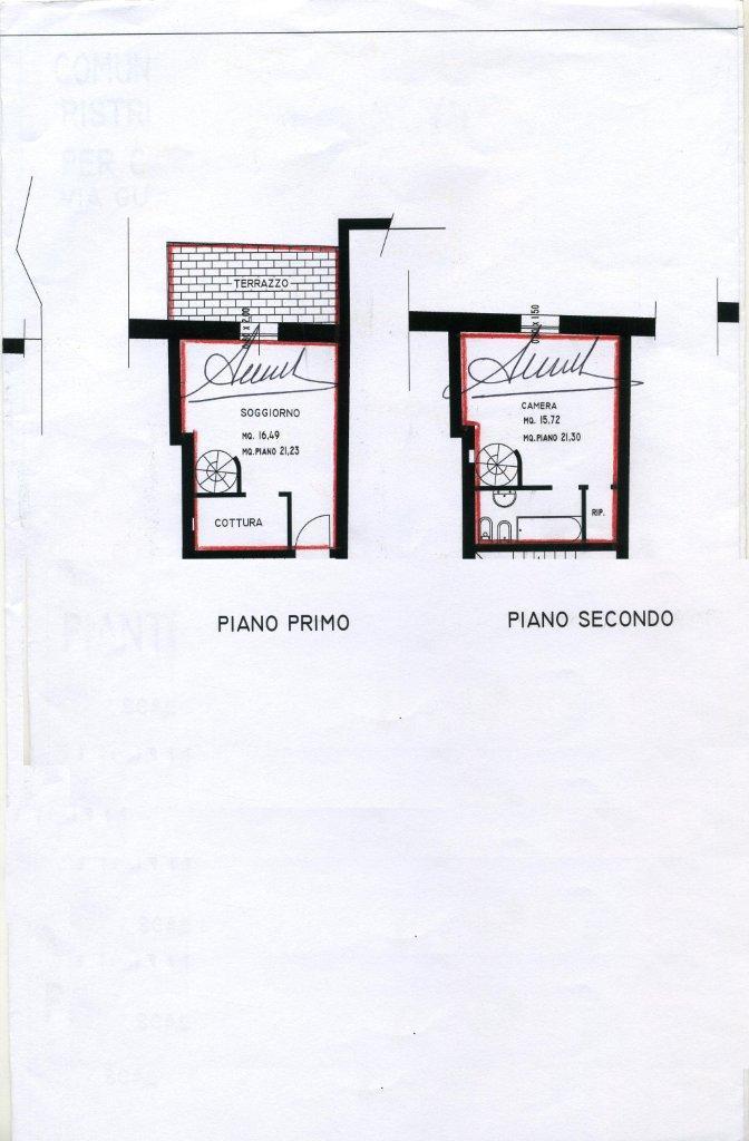 Planimetria 1/1 per rif. B/0030