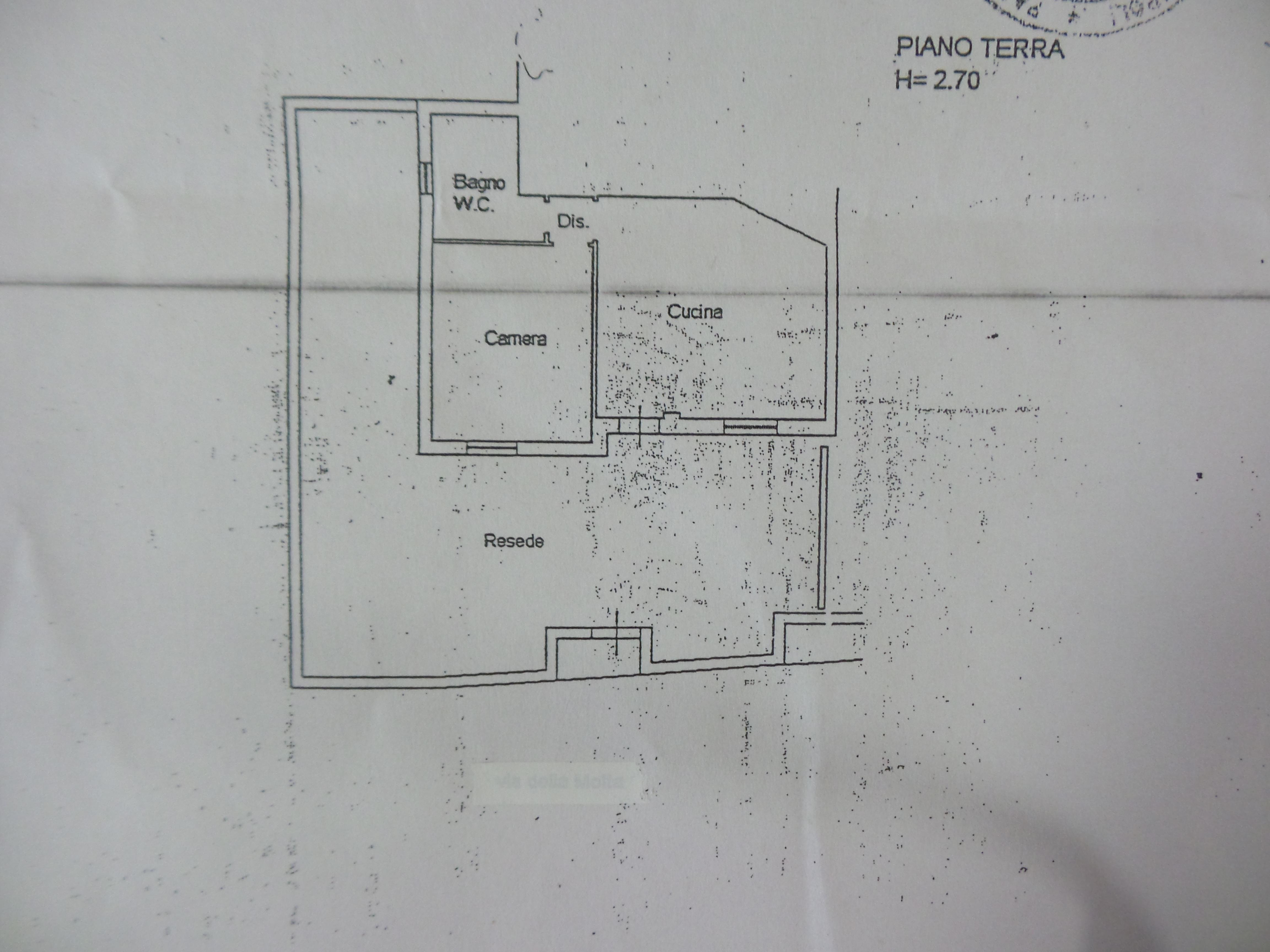 Planimetria 1/1 per rif. B/0020