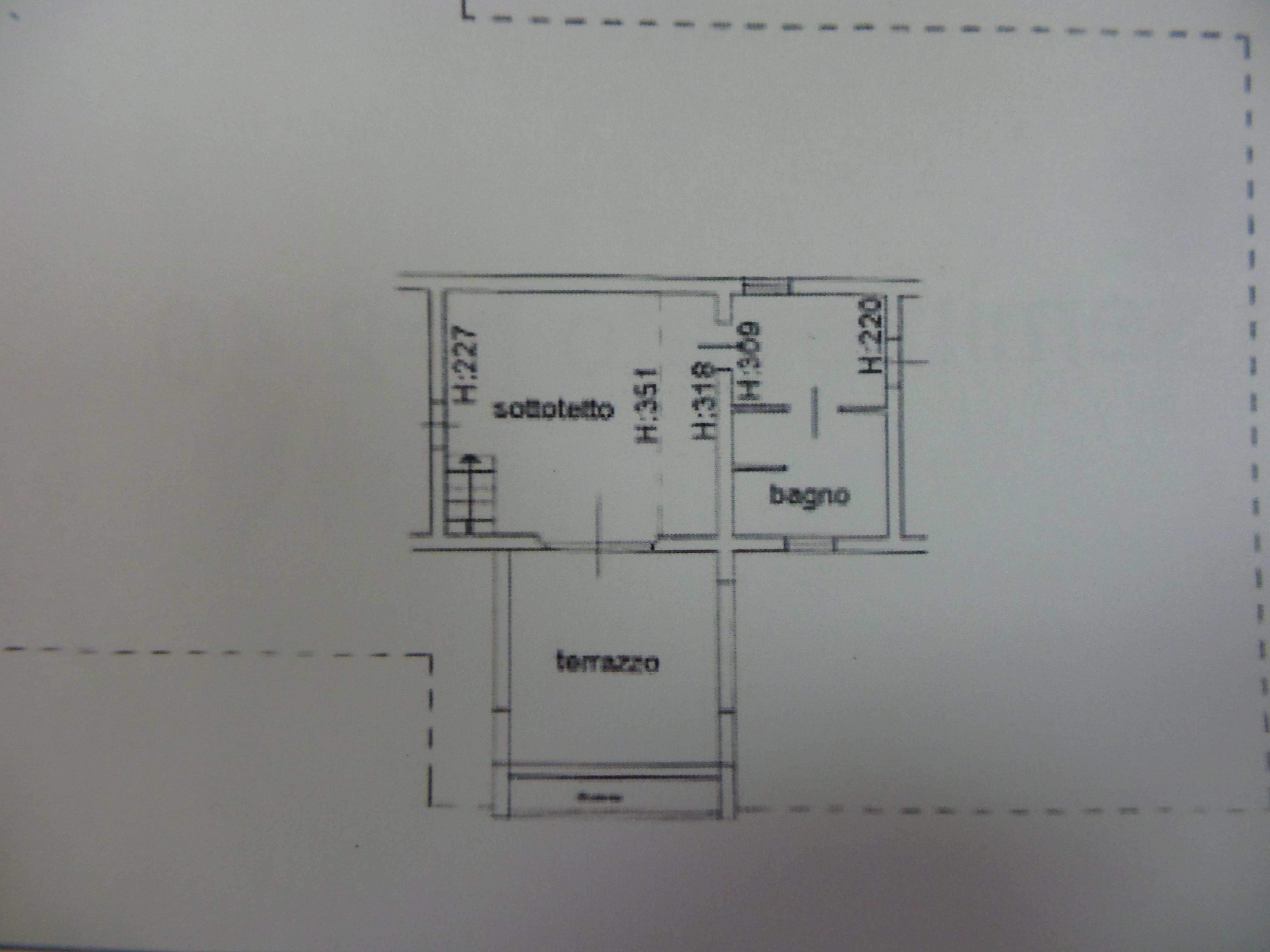 Planimetria 2/3 per rif. B/0025