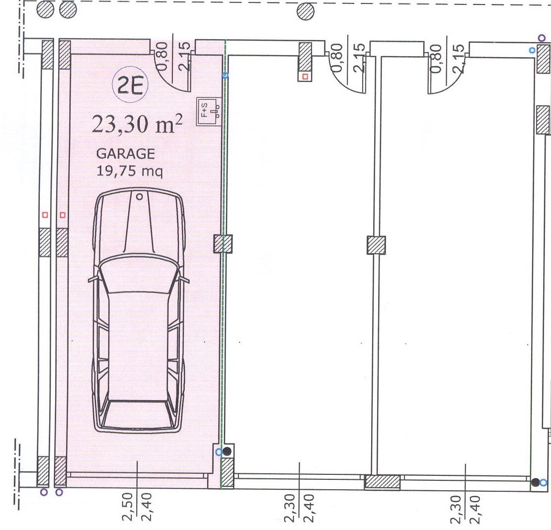 Planimetria 2/2 per rif. F/0081
