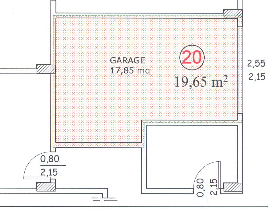 Planimetria 2/2 per rif. F/0082