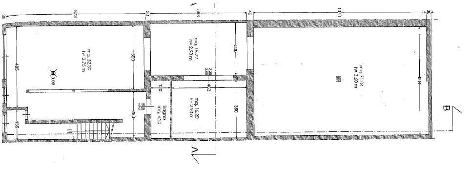 Planimetria 1/1 per rif. M/0055