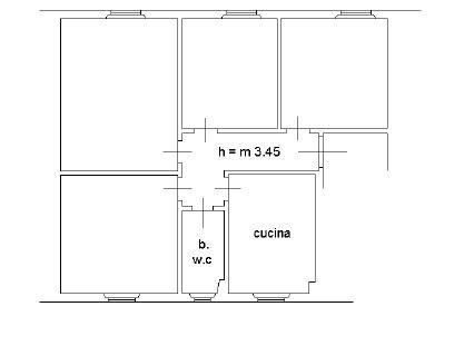 Planimetria 1/2 per rif. M/0056