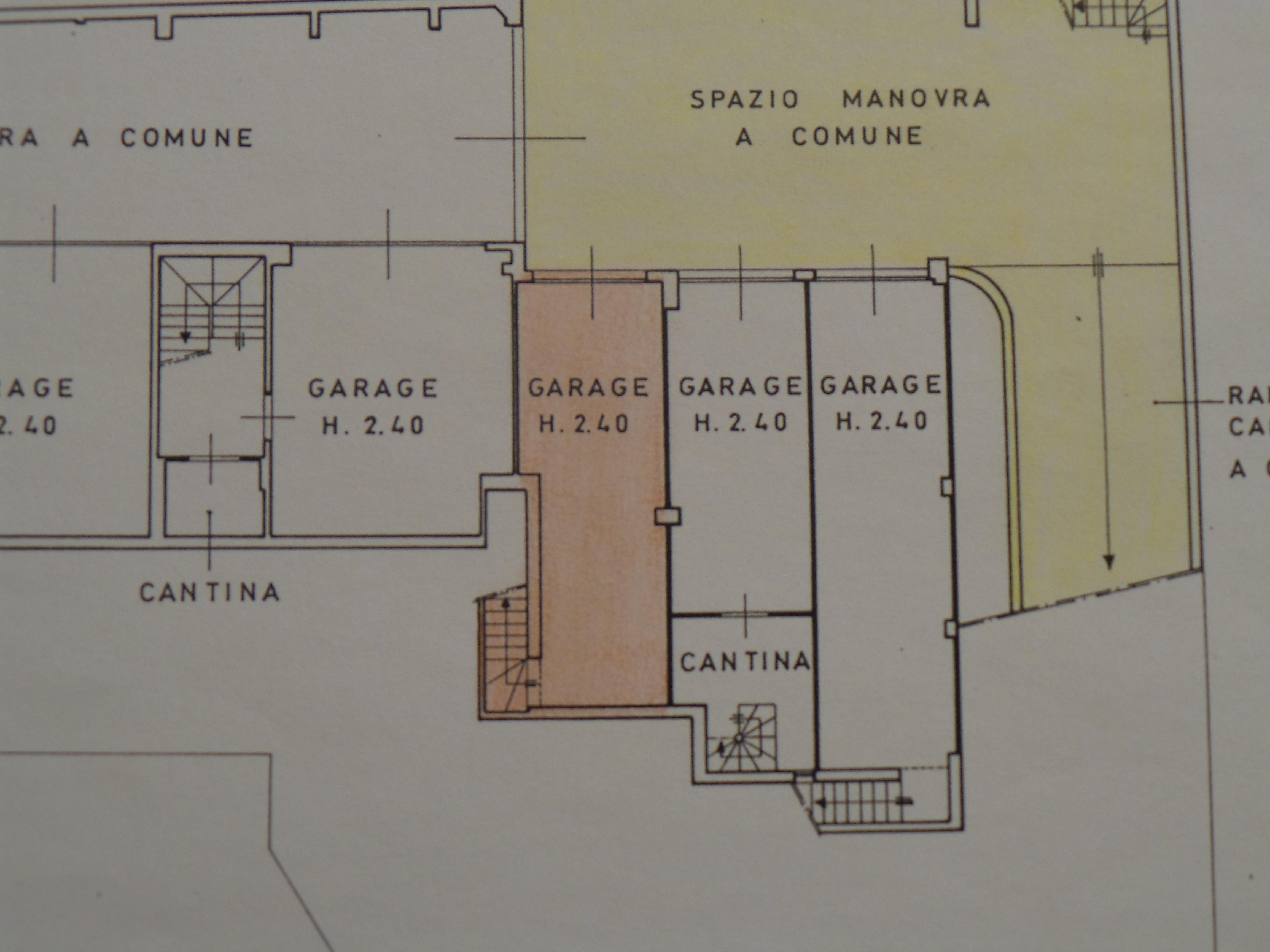 Planimetria 2/2 per rif. B/0041