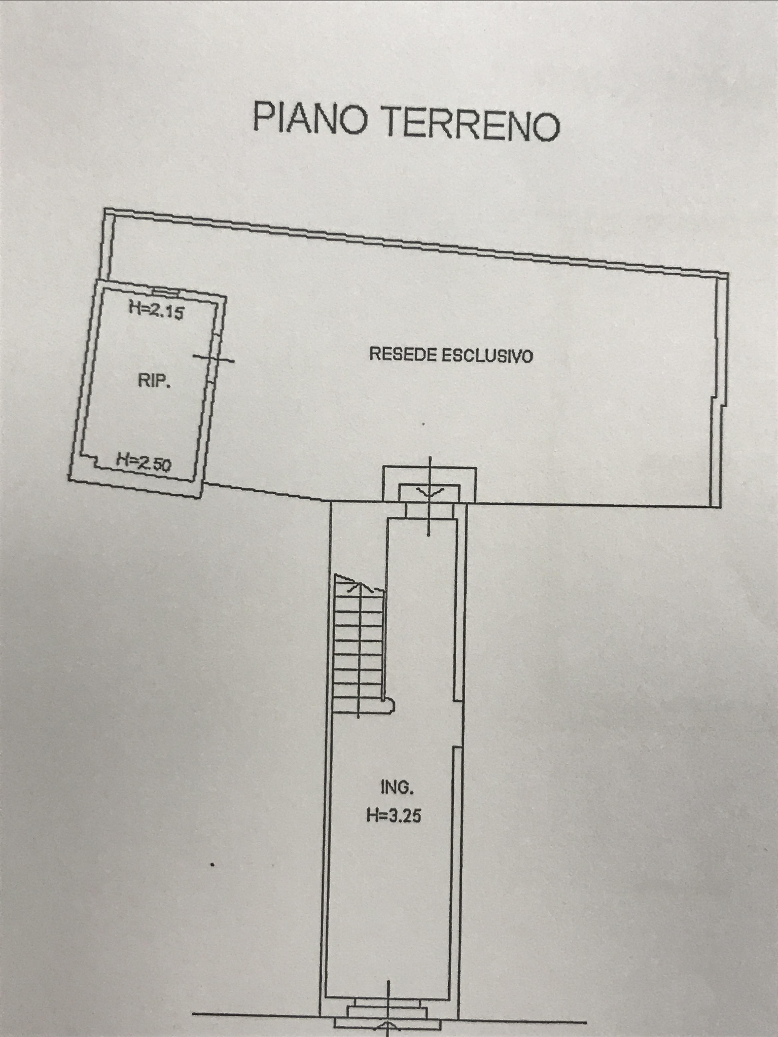 Planimetria 2/3 per rif. M/0065