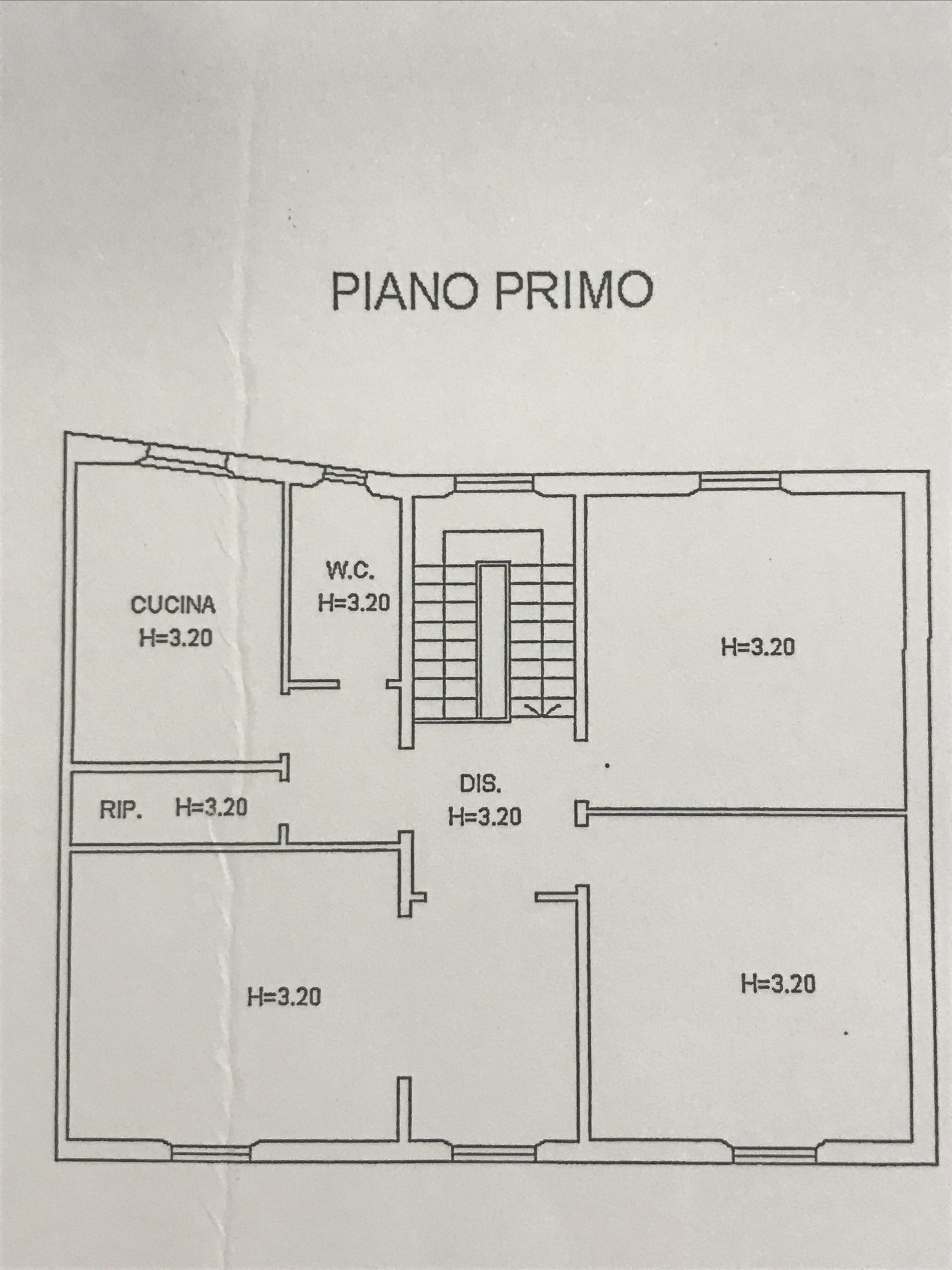 Planimetria 1/3 per rif. M/0065