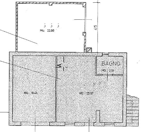 Planimetria 1/2 per rif. M/0066