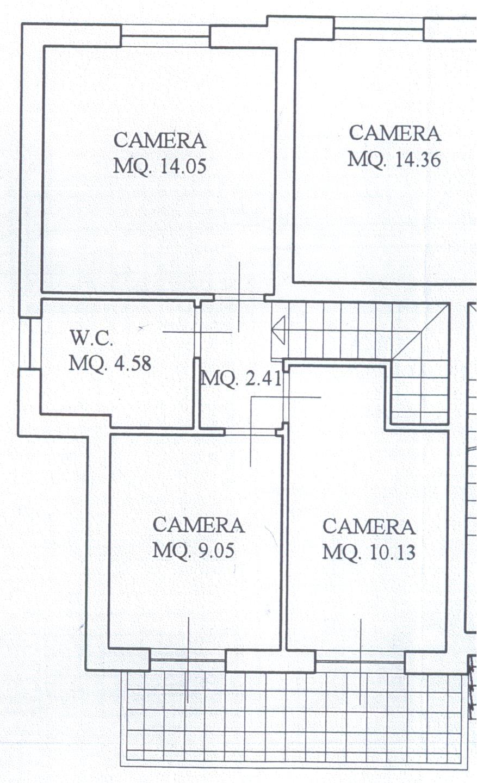 Planimetria 3/4 per rif. B/0048