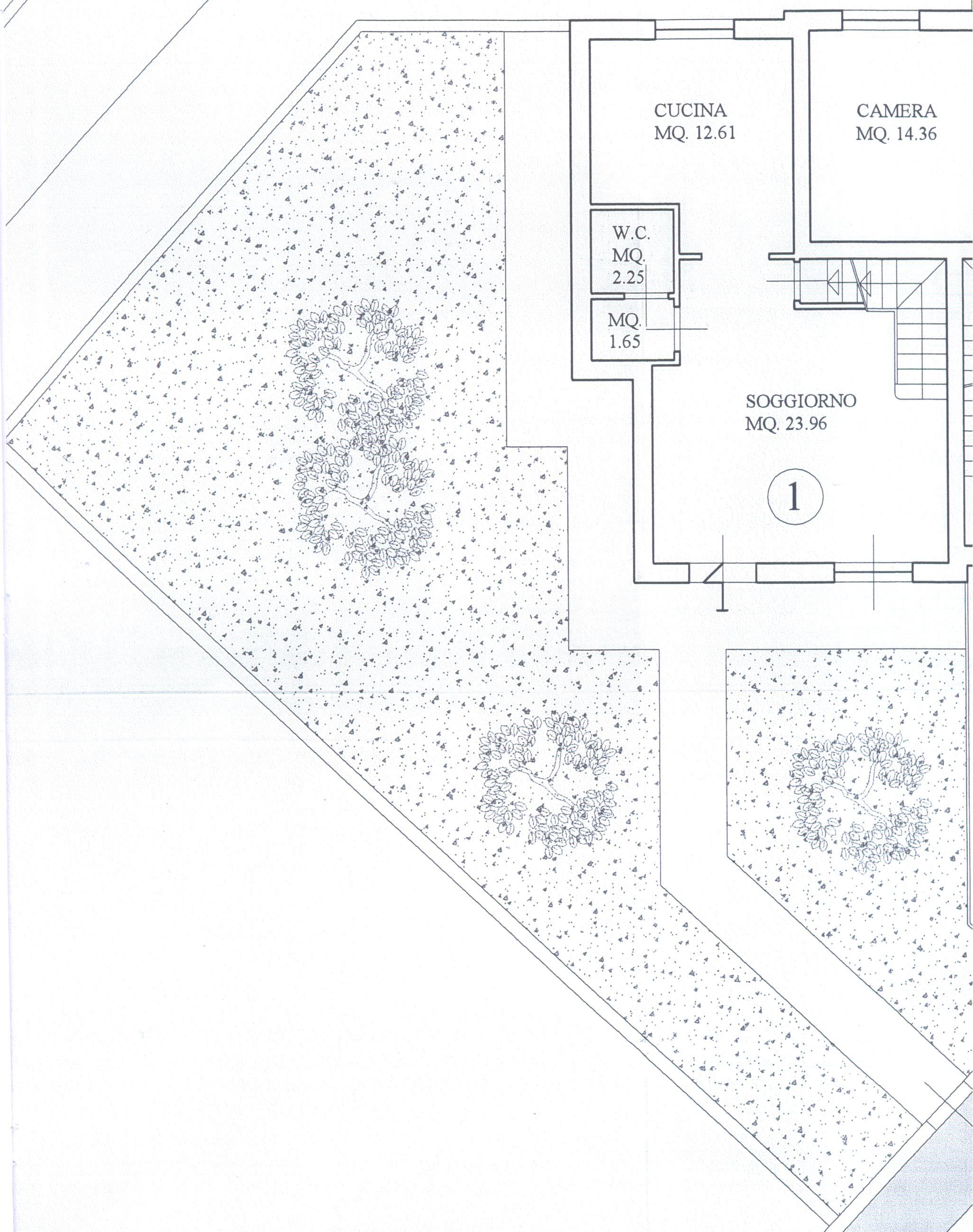 Planimetria 2/4 per rif. B/0048