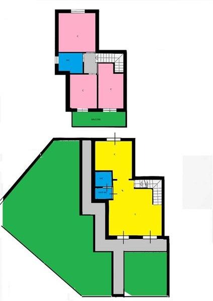 Planimetria 1/4 per rif. B/0048