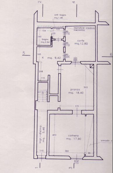 Planimetria 1/2 per rif. M/0068
