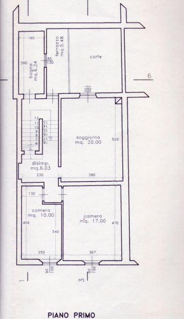 Planimetria 2/2 per rif. M/0068