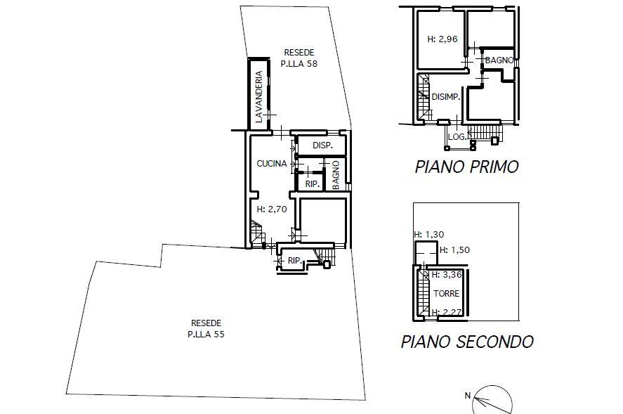Planimetria 1/1 per rif. M/0077