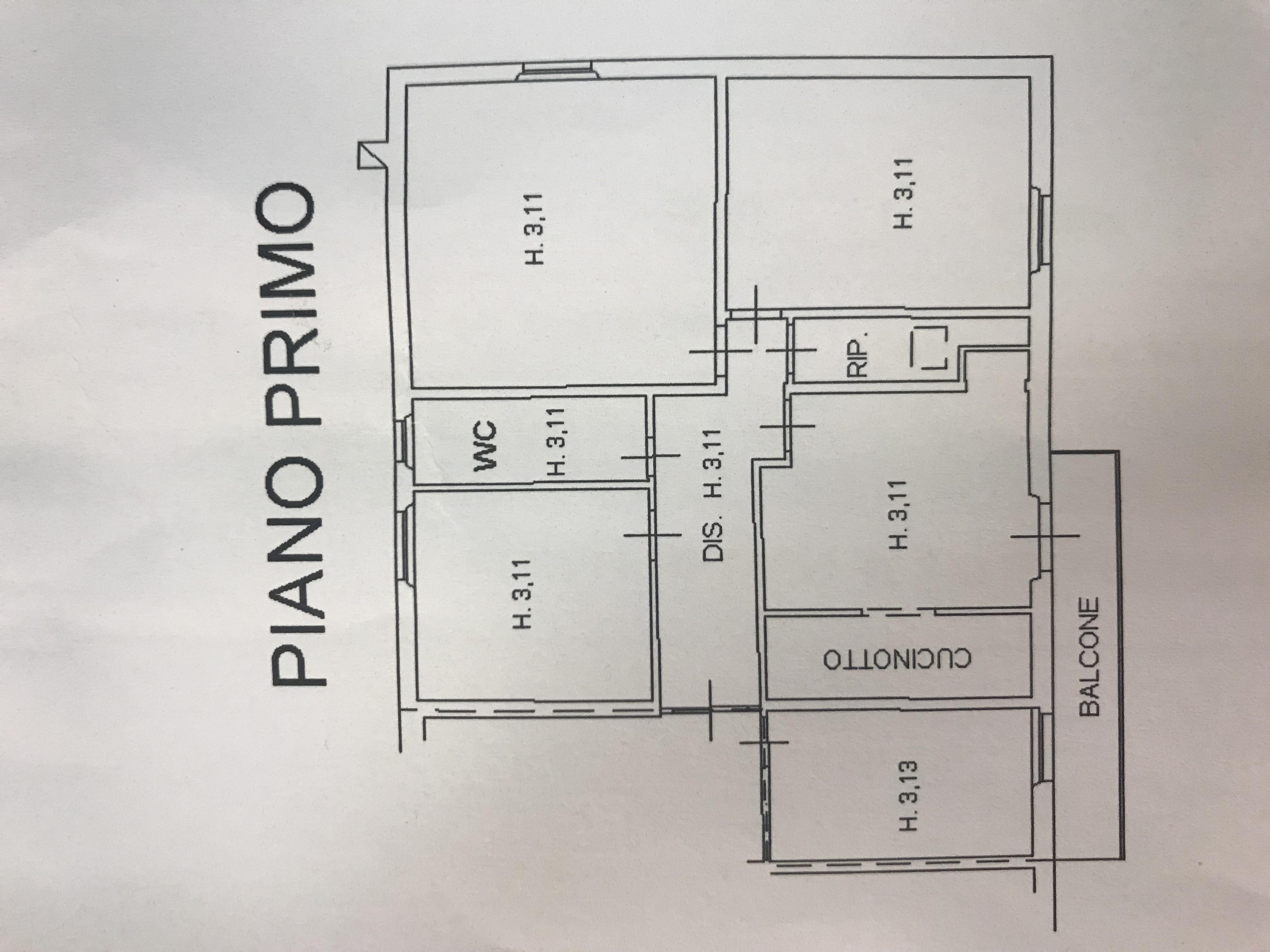Planimetria 1/1 per rif. M/0079