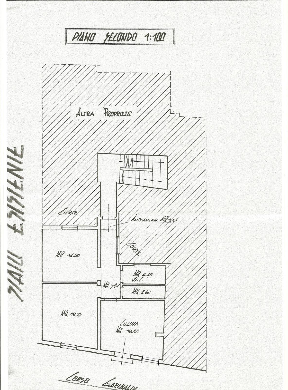 Planimetria 1/1 per rif. F/0115
