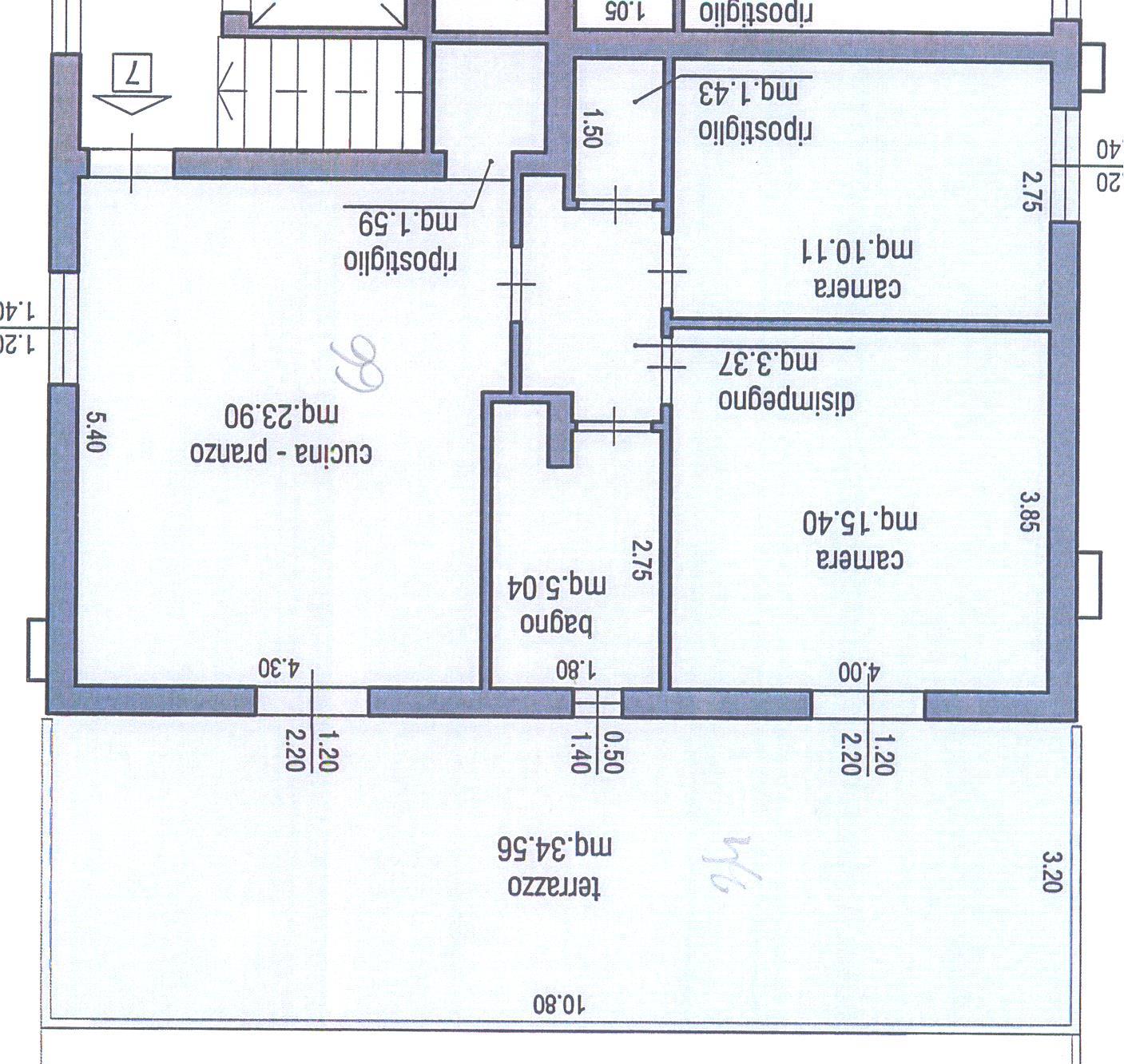 Planimetria 1/1 per rif. M/0085